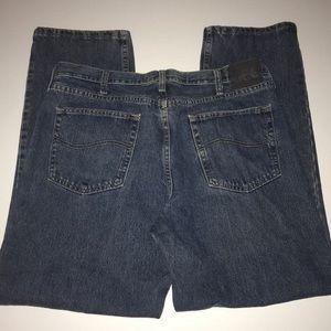 Men's LEE Regular Fit Jeans  Size: 38x30